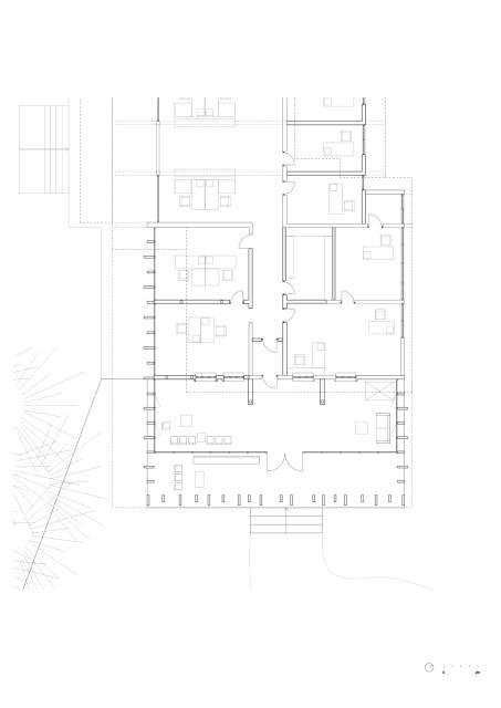 office Modern loft style Materials of cement (12)