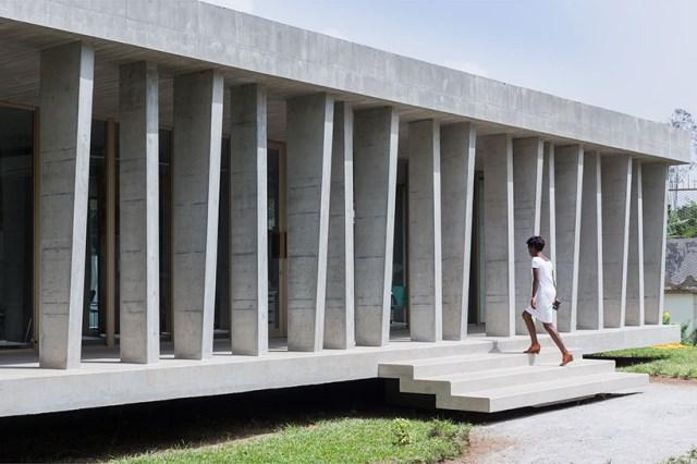 office Modern loft style Materials of cement (4)