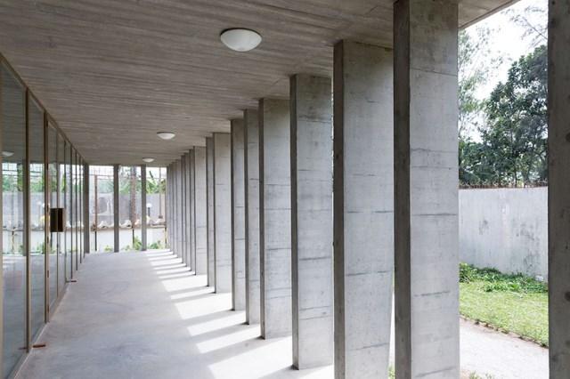 office Modern loft style Materials of cement (5)
