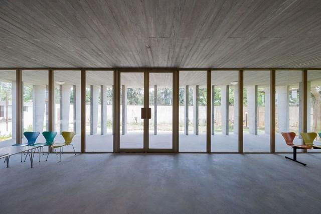 office Modern loft style Materials of cement (6)
