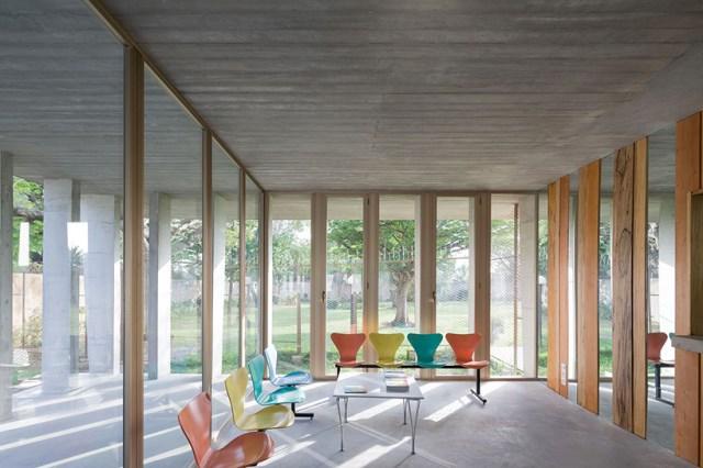 office Modern loft style Materials of cement (7)