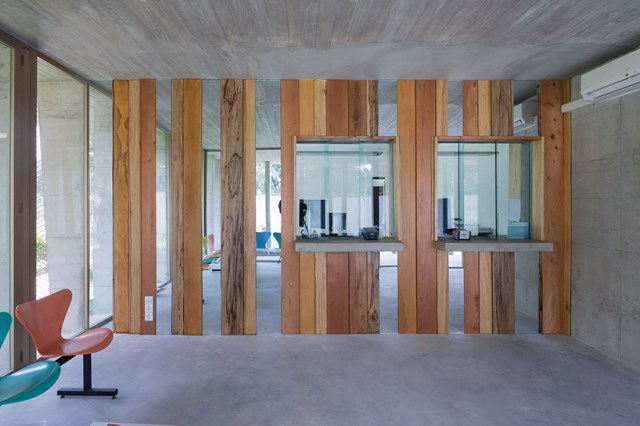 office Modern loft style Materials of cement (8)