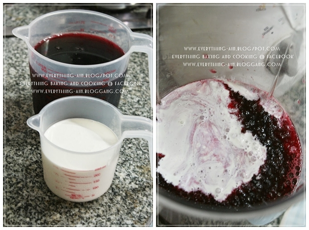 roselle ice cream homemade recipe (5)