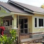 Review : สร้างบ้านหลังน้อยให้คุณแม่ 2 ห้องนอน 1 ห้องน้ำ เรียบง่ายและกะทัดรัด