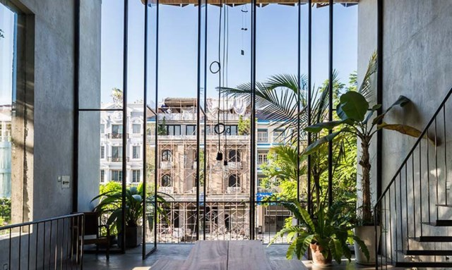 townhouse Tropical lofts style (1)