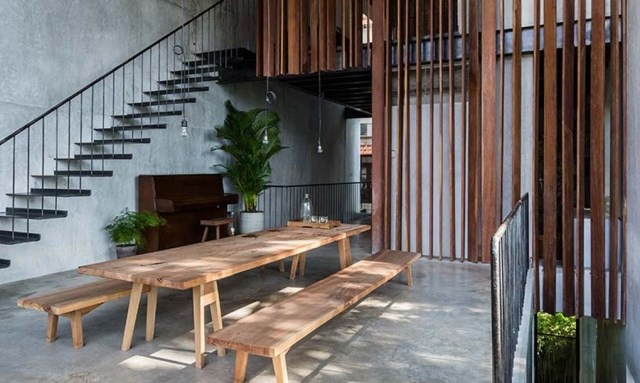 townhouse Tropical lofts style (18)