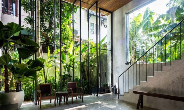 townhouse Tropical lofts style (3)