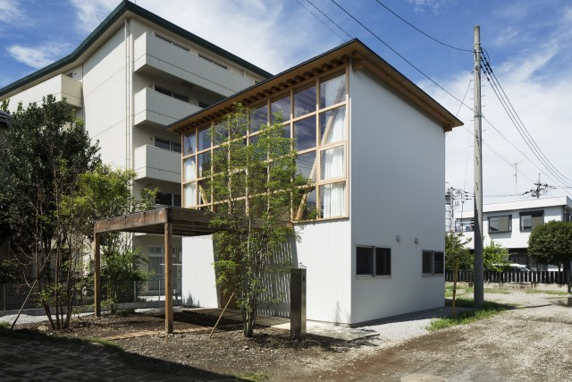 two-storey small  house Contemporary Design (1)