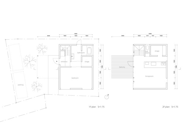 two-storey small  house Contemporary Design (12)