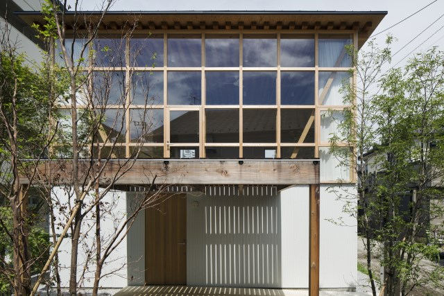 two-storey small  house Contemporary Design (2)