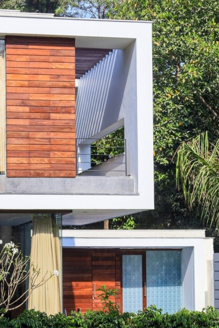 two-story Modern house Box -shaped design (2)