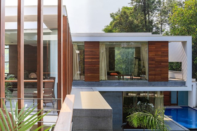 two-story Modern house Box -shaped design (4)