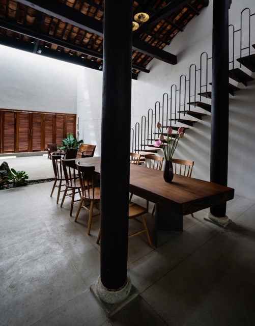 two-story house European style Interior style loft (1)