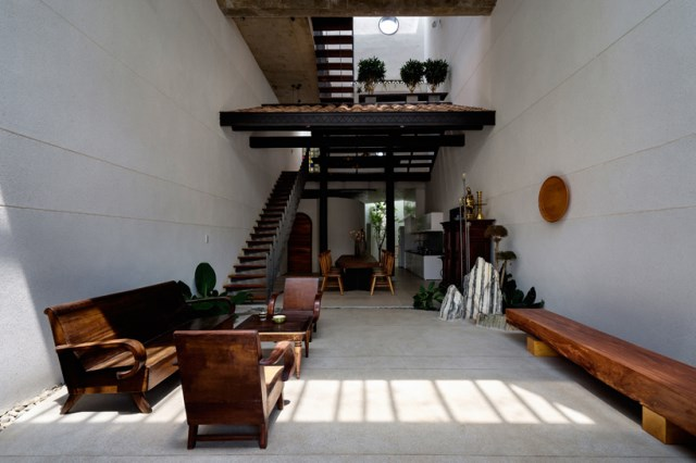 two-story house European style Interior style loft (4)