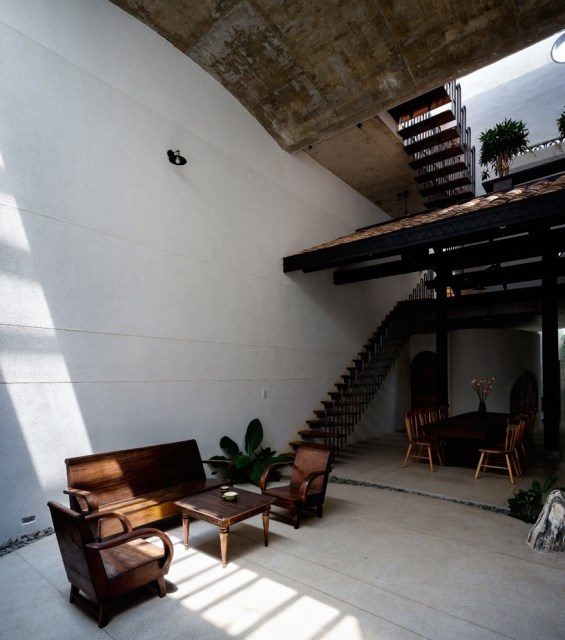 two-story house European style Interior style loft (9)