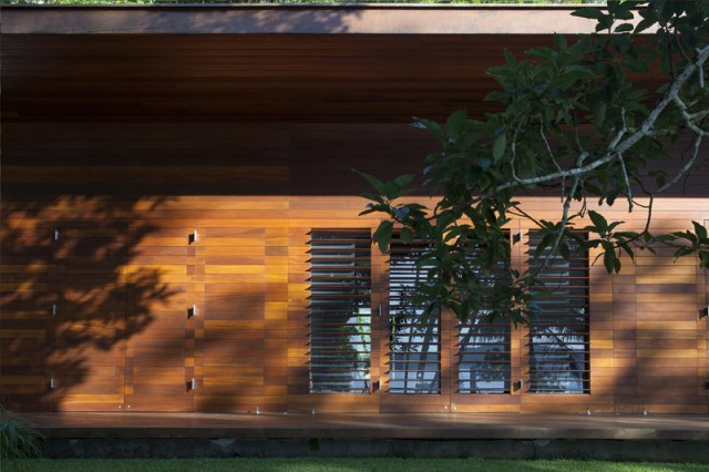 vacation house Design wood and glass (1)