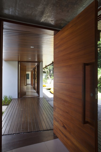 vacation house Design wood and glass (7)