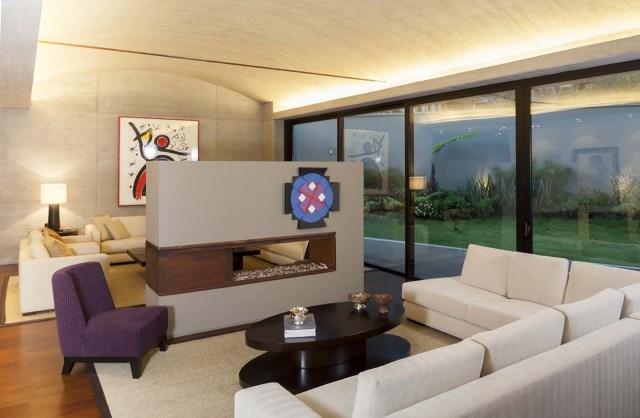 villa house Modern style Materials of concrete (10)
