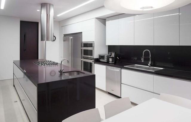 villa house Modern style Materials of concrete (6)