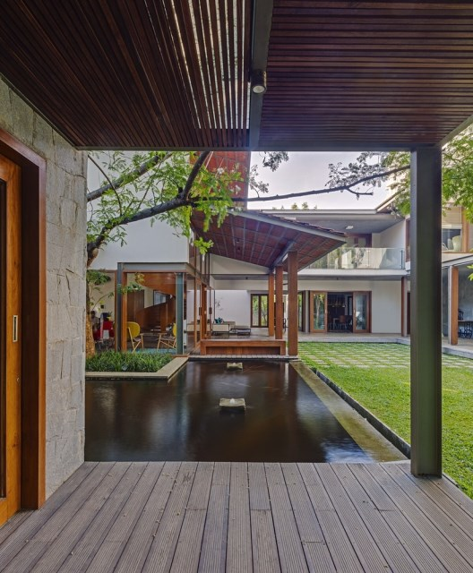 wooden Modern house mood of relaxation resort (10)