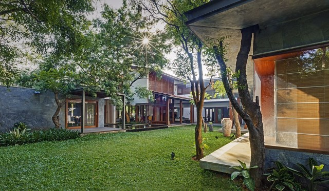 wooden Modern house mood of relaxation resort (15)