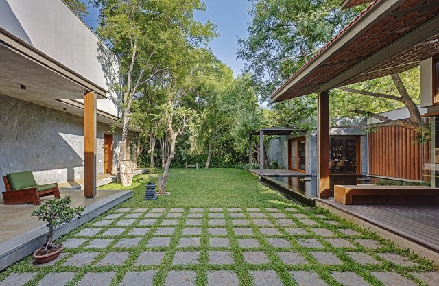 wooden Modern house mood of relaxation resort (16)