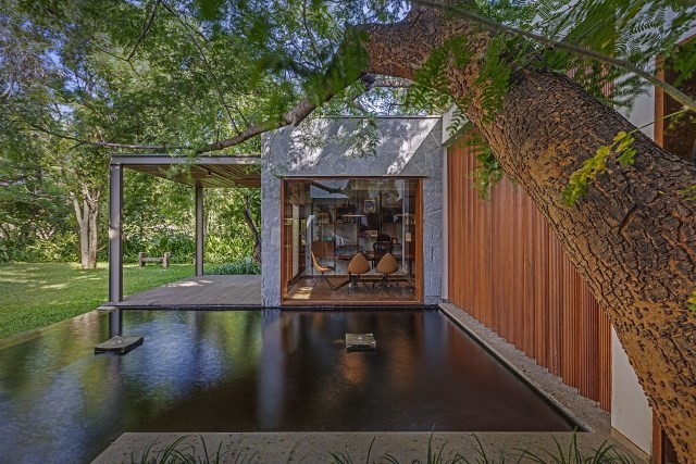 wooden Modern house mood of relaxation resort (18)
