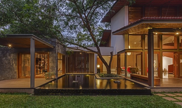 wooden Modern house mood of relaxation resort (20)