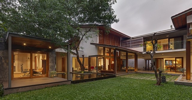 wooden Modern house mood of relaxation resort (21)