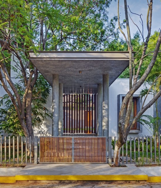wooden Modern house mood of relaxation resort (3)