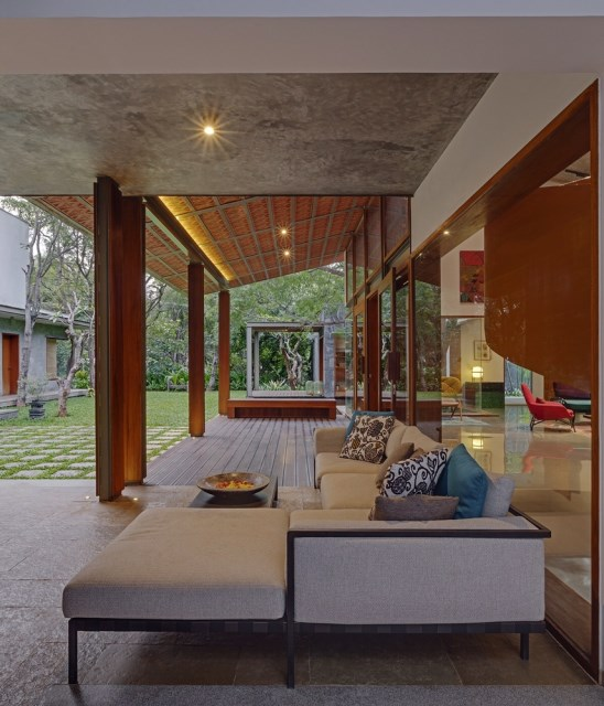 wooden Modern house mood of relaxation resort (9)