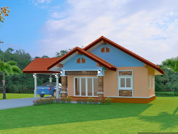 1 floor contemporary house in 650k (1)