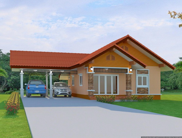 1 floor contemporary house in 650k (2)