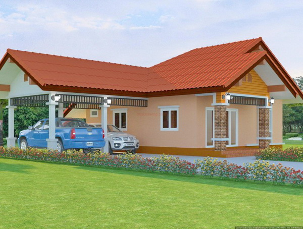 1 floor contemporary house in 650k (3)