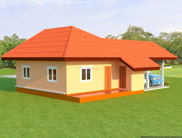 1 floor contemporary house in 650k (5)