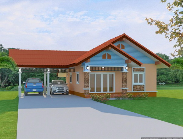 1 floor contemporary house in 650k (7)