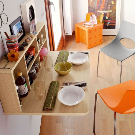 10 space saving dinning table ideas (6)