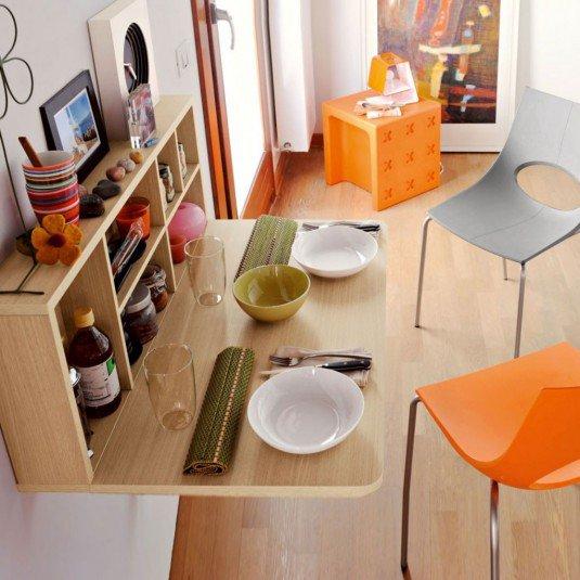 10 space saving dinning table ideas (6)
