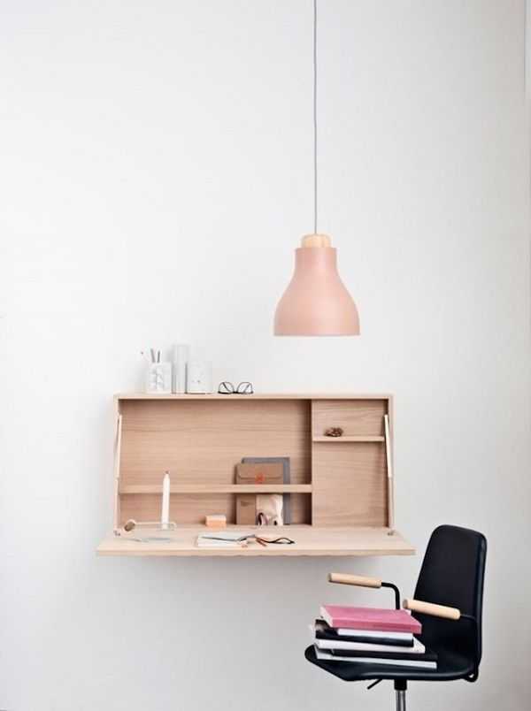 15 SMART SPACE SAVING DESK ideas (10)