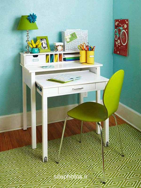 15 SMART SPACE SAVING DESK ideas (12)