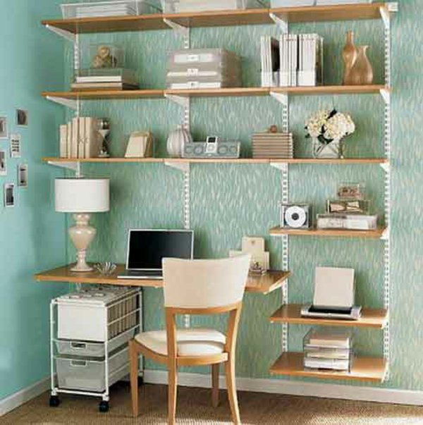 15 SMART SPACE SAVING DESK ideas (2)