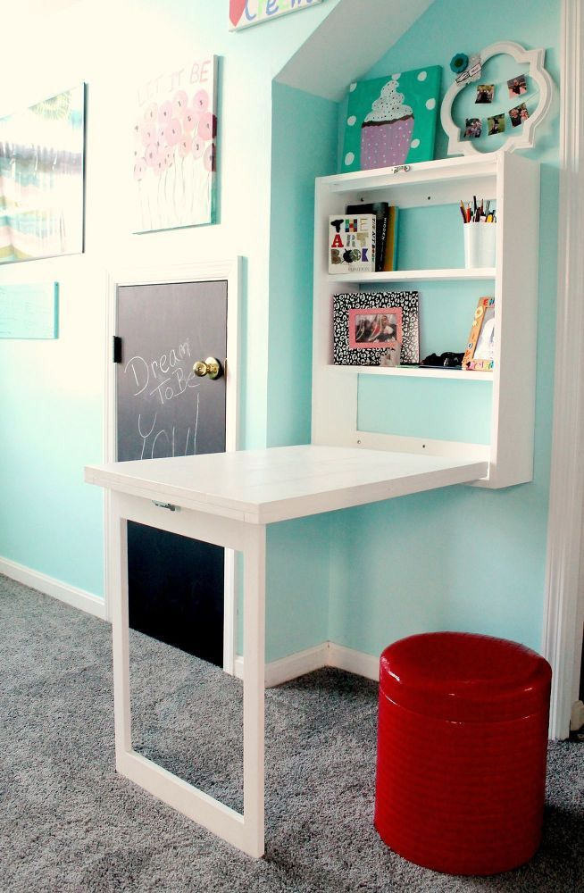 15 SMART SPACE SAVING DESK ideas (3)