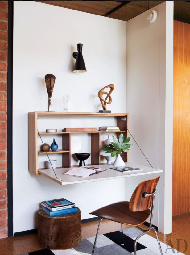 15 SMART SPACE SAVING DESK ideas (4)