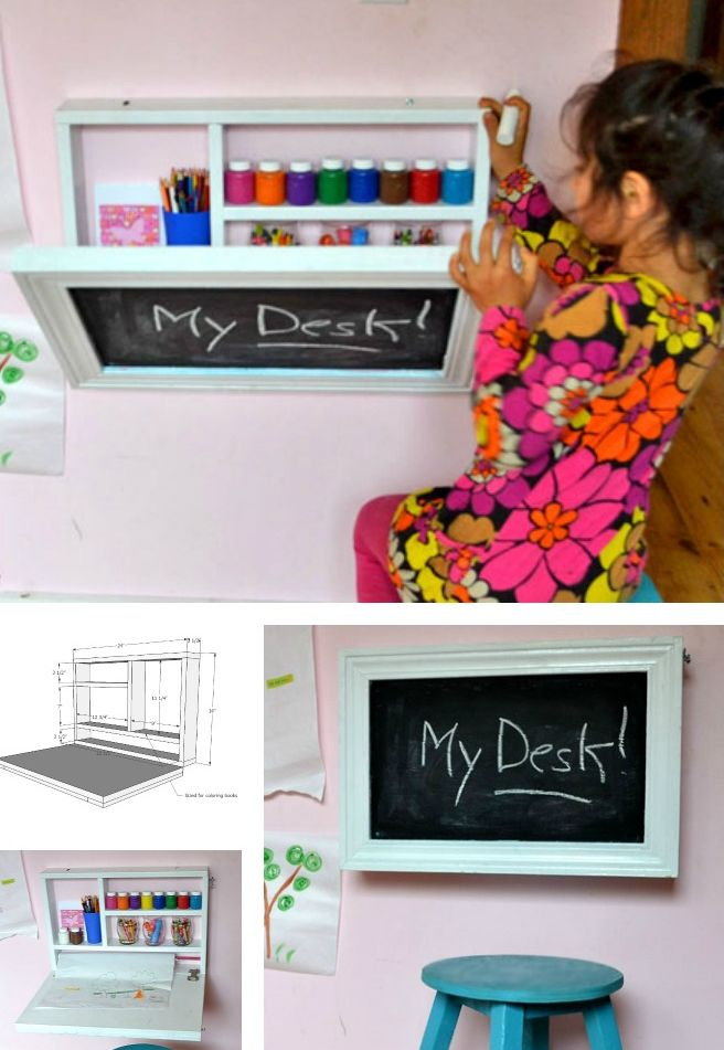 15 SMART SPACE SAVING DESK ideas (7)