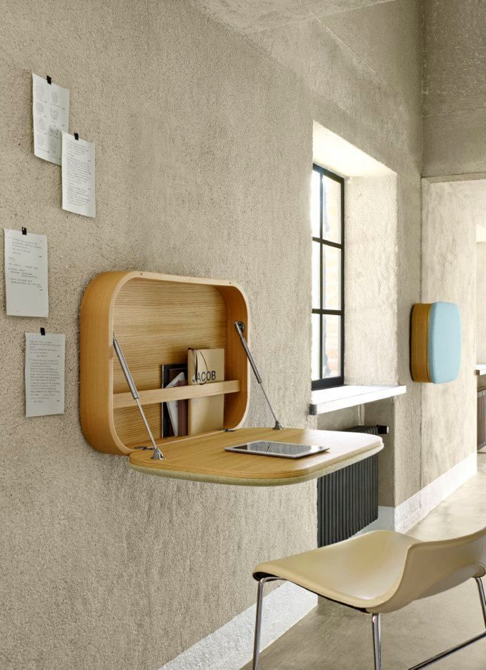 15 SMART SPACE SAVING DESK ideas (8)