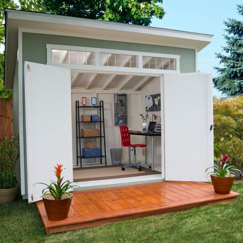 16 DREAMY BACKYARD SHED ideas (2)
