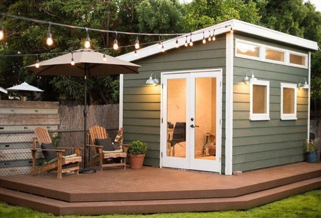16 DREAMY BACKYARD SHED ideas (4)