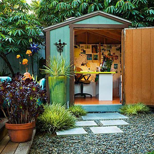 16 DREAMY BACKYARD SHED ideas (5)