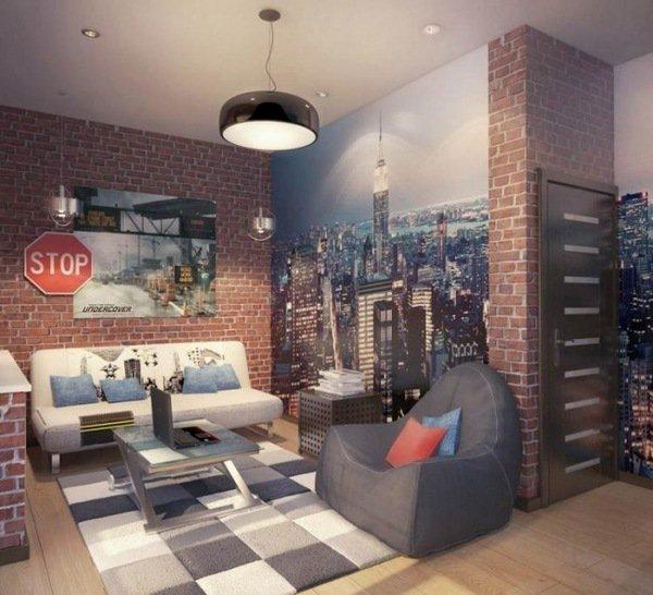 16-bedroom-designs-with-brick-walls (12)