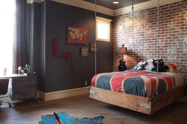 16-bedroom-designs-with-brick-walls (7)